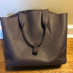 Lululemon Purse/tote Purple